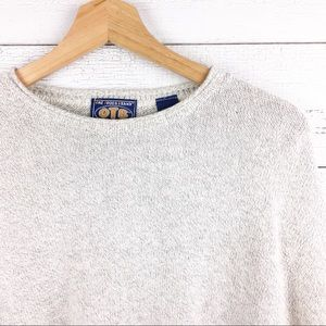 Vintage 90s Pullover Oversized Cotton Sweater
